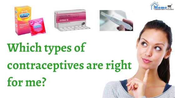 Which types of contraception are right for me?